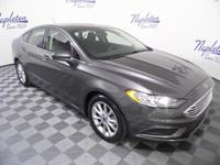 2017 Ford Fusion CARFAX One-Owner. Bluetooth, 6-Speed
