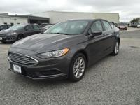 Options:  2017 Ford Fusion Se|Magnetic|Ebony W/Cloth