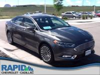 Check out this gently-used 2017 Ford Fusion we recently