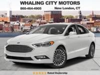 Turbo! GPS Nav! 2017 Ford Fusion. If you're looking for