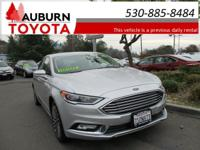LEATHER, HEATED SEATS, BACKUP CAMERA! This 2017 Ford