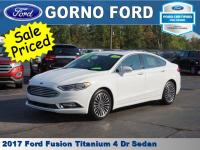 2017 FORD FUSION TITANIUM. POWER MOONROOF,LEATHER