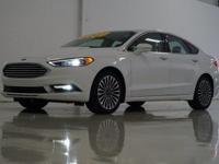 2017 Ford Fusion Titanium in Oxford White, This Fusion