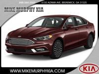 This 2017 Ford Fusion is complete with top-features
