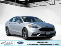This Ford Fusion delivers a Twin Turbo Premium Unleaded