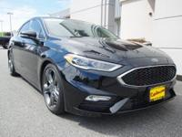 2017 FORD FUSION SPORT AMAZING ONE OWNER LOW MILE
