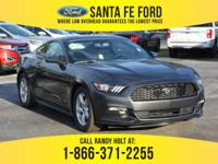 *2017 Ford Mustang* - Coupe - V6 3.7L Engine - remote