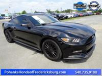 This 2017 Mustang is a one owner vehicle with a clean