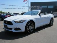 *FORD CERTIFIED* and * NO FEE DEALER*. Mustang EcoBoost