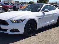 CARFAX One-Owner. Clean CARFAX. White 2017 Ford Mustang