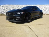 CARFAX One-Owner. Clean CARFAX. Black 2017 Ford Mustang