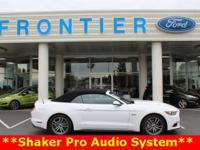 Recent Arrival! New Price! Mustang GT Premium, 5.0L V8