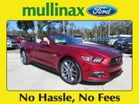 2017 Ford Mustang GT Premium At Mullinax there are NO