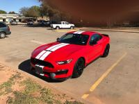 2017 Shelby GT350. Beautiful race red. Never been raced