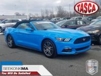 One Owner *, Clean Car-Fax*. Grabber Blue 2017 Ford