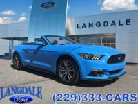 CARFAX One-Owner. Clean CARFAX. Grabber Blue 2017 Ford