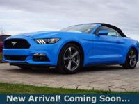 2017 Ford Mustang V6 in Grabber Blue, This Mustang