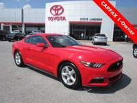 Recent Arrival! New Price! 2017 Ford Mustang V6 3.7L V6