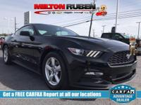 This 2017 Ford Mustang 2dr V6 Fastback features a 3.7L