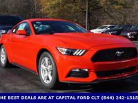 2017 Ford Mustang. Pony Power! A great deal in