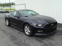 2017 Ford Mustang CARFAX One-Owner. Odometer is 878