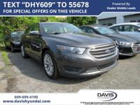 Magnetic 2017 Ford Taurus Limited FWD 6-Speed Automatic