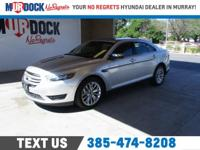 Silver 2017 Ford Taurus Limited FWD 6-Speed Automatic