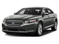 This 2017 Ford Taurus Limited is offered to you for