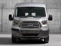 CARFAX One-Owner. Oxford White 2017 Ford Transit-150