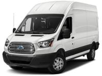 CARFAX One-Owner. Oxford White 2017 Ford Transit-250