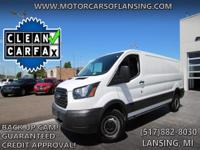 Options:  2017 Ford Transit T-250|Guaranteed Credit