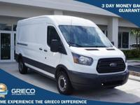 Clean CARFAX. 2017 Ford Transit-250 Priced below KBB