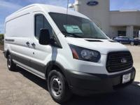 Options:  2017 Ford Transit-250 Base|White|3.73 Axle