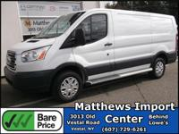 White 2017 Ford Transit-250 RWD 6-Speed Automatic with