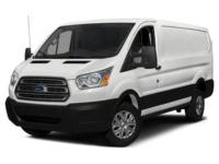 ONLY 7K MILES! LOW ROOF! White 2017 Ford Transit-250