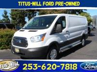 Oxford White 2017 Ford Transit-250 RWD 6-Speed