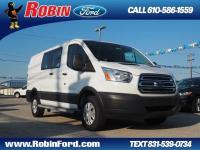 This Oxford White 2017 Ford Transit Cargo Cargo might