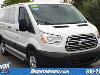 Clean CARFAX. White 2017 Ford Transit-250 RWD 6-Speed