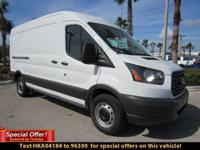 The 2017 Ford Transit offers the flexibility to fit any