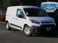 Frozen White 2017 Ford Transit Connect XL FWD 6-Speed
