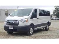 Bright White 2017 Ford Transit-350 RWD 6-Speed