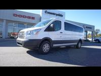 This 2017 Ford Transit Wagon is a real winner with