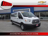 Extremely sharp!! This wonderful 2017 Ford Transit-350