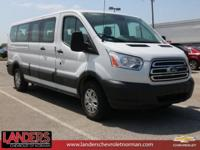 Clean CARFAX. White 2017 Ford Transit-350 RWD 6-Speed