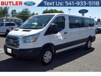 This 2017 Ford Transit Wagon T-350 Low Roof 60/40 has a