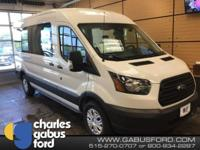 New Price! Oxford White 2017 Ford Transit-250 XL RWD