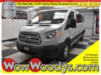 One Owner! This 2017 Ford Transit Wagon XLT is equipped
