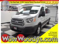LOW MILES! This Ford Transit Wagon XLT top options