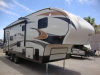 The all new 2017 Fox Mountain 235 RLS 5th Wheel has