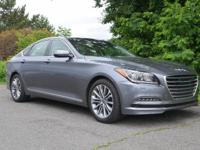 CARFAX One-Owner. Clean CARFAX. Gray 2017 Genesis G80